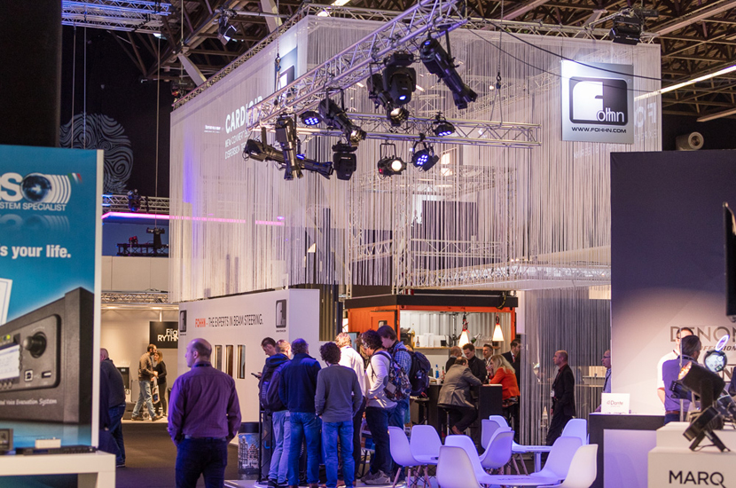 <h1>3D Audio Showcase @ ISE Amsterdam, Netherlands</h1>