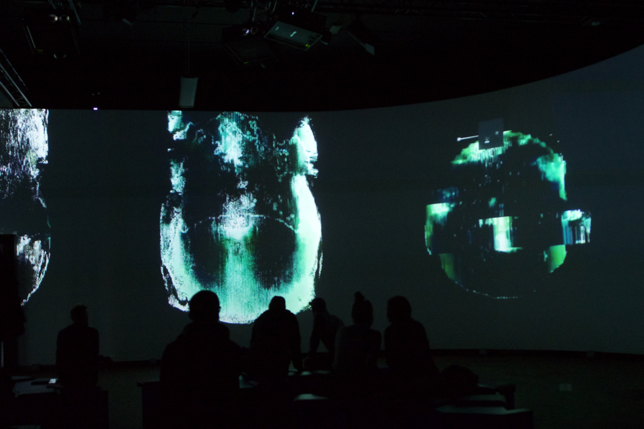<h1>Project: Hemispheres__Concept and Music for the Audio/Video Installation at Alte Münze Berlin, Germany</h1>